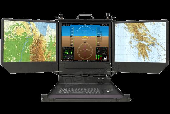 Rugged Military Dual Triple Lcd Monitors 183 Nls Displays